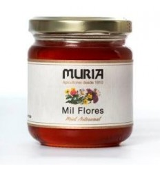 BOTE DE MIEL DE MIL FLORES 250GRS