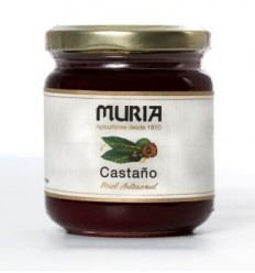 BOTE DE MIEL DE CASTAÑO 250GRS