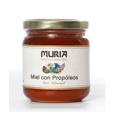 MIEL CON PROPOLEO 250GRS