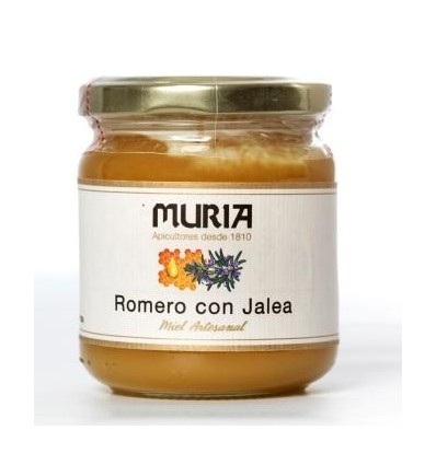 JAR OF HONEY WITH ROYAL JELLY 250GRS