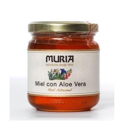 BOTE DE MIEL CON ALOE VERA 250GRS
