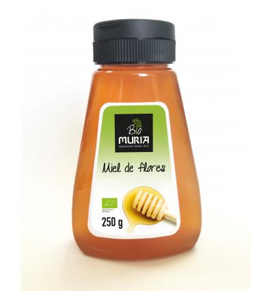Organic flower honey squeeze bottle