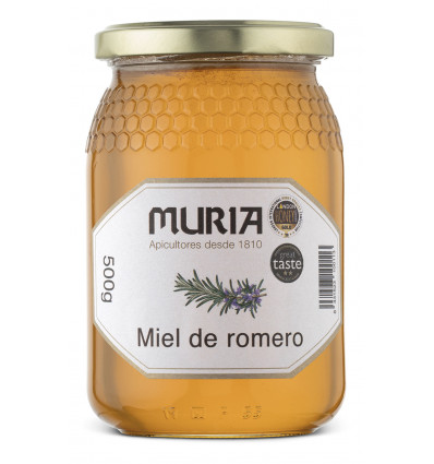 JAR OF ROSEMARY HONEY 500 GRS