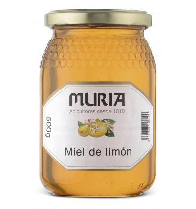 BOTE DE MIEL DE LIMÓN 500 GR.