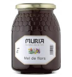 JAR OF THOUSAND FLOWER HONEY 1000 GRS