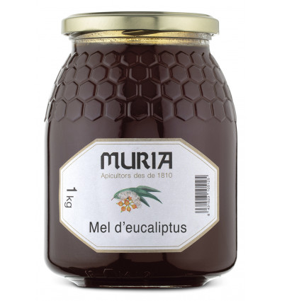 JAR OF EUCALYPTUS HONEY 1000 GRS